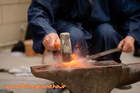 فولاد شمشير دعا خدا آهنگر