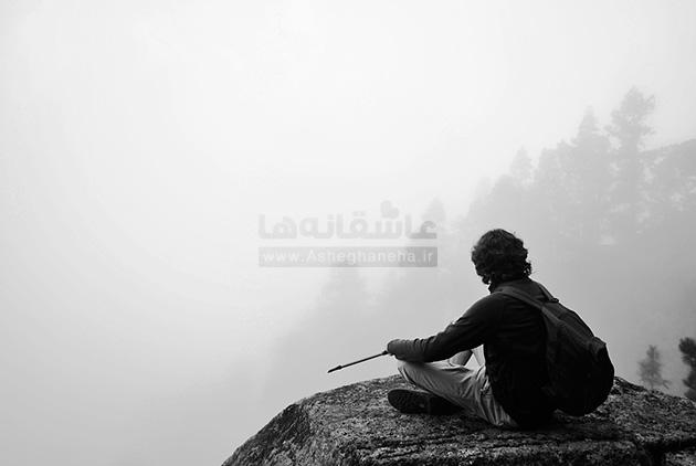 تنهایی داریوش سکوت شب نگاه