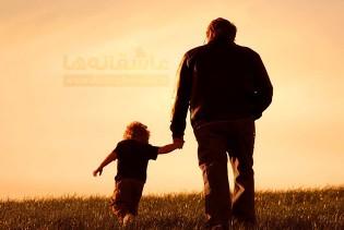 تصویر پدر و پسر