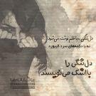 دلتنگی نه با قلم نوشته میشود، نه با دکمههای سرد کیبورد؛ دلتنگی را با اشک مینویسند.